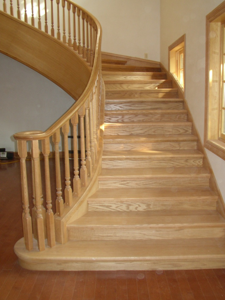 All Wood Stairs Classic Stairs And Remodeling
